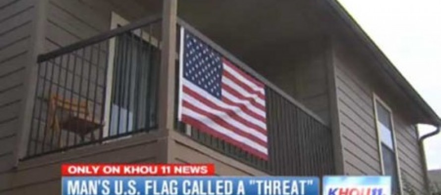 Man Told to Remove American Flag Because 'It's a Threat to Muslims' (Video)