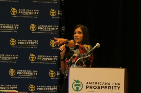Dana Loesch opens up the conference