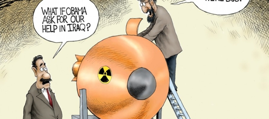 Meanwhile in Iran (Cartoon)