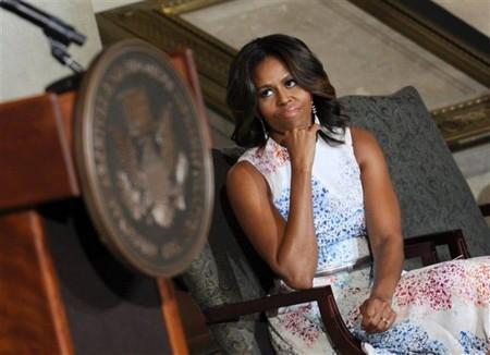Michelle Obama rotunda national archives