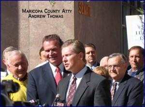 Thomas et al at SB 1070 press conference