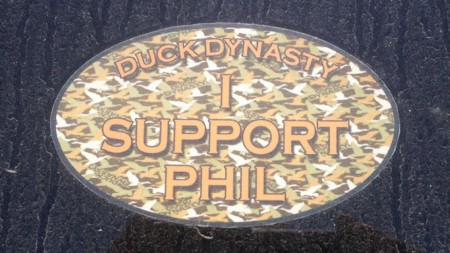 duck dynasty sticker
