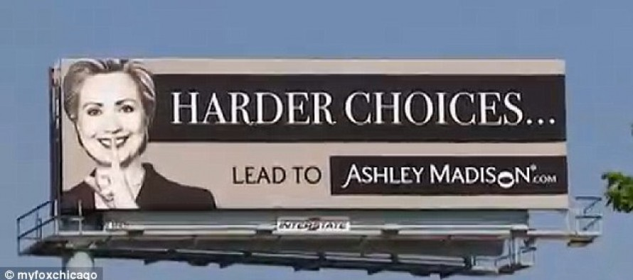 "Billboard With ""Ultimate Insult to Hillary"" Jams Traffic"