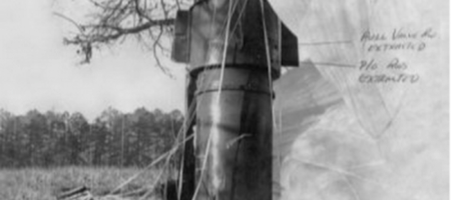 REVEALED: Only an equipment malfunction stopped a NUCLEAR BOMB from going in 1961 North Carolina