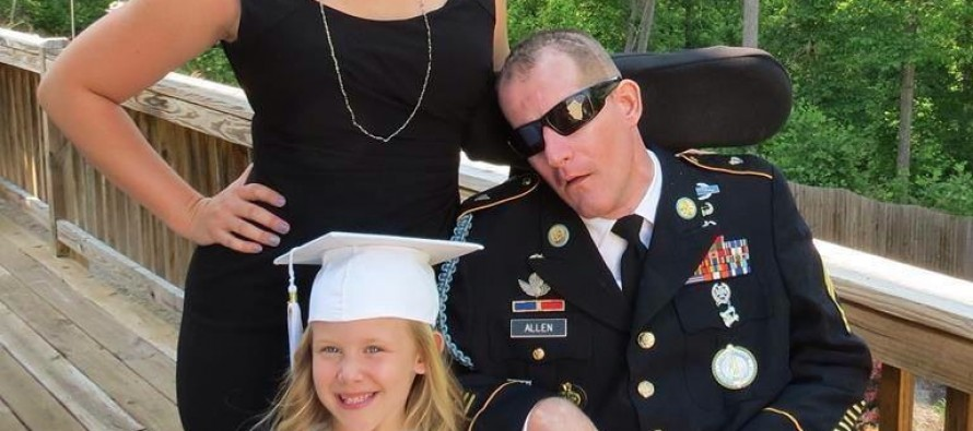 Wife of Disabled Army Vet Wounded in the Search for Bowe Bergdahl Has a Powerful Message