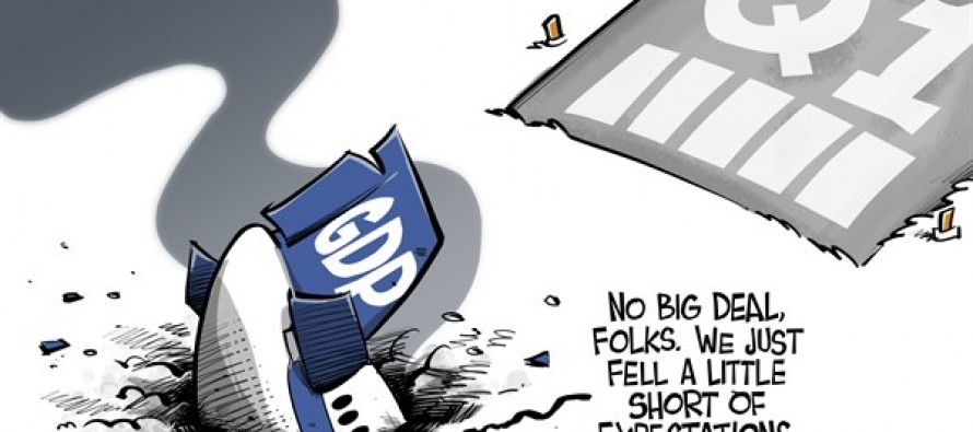 Q1 GDP (Cartoon)