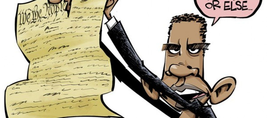 Obama's demands (cartoon)