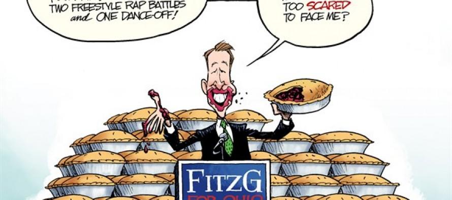 Gubernatorial Debates (Cartoon)