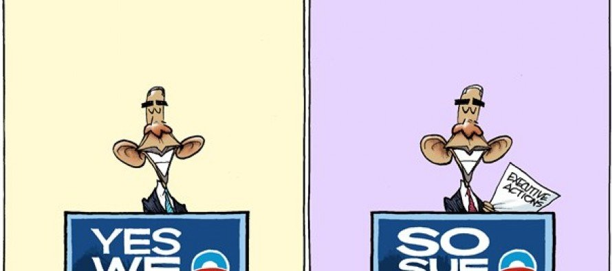 Obama Changes (Cartoon)