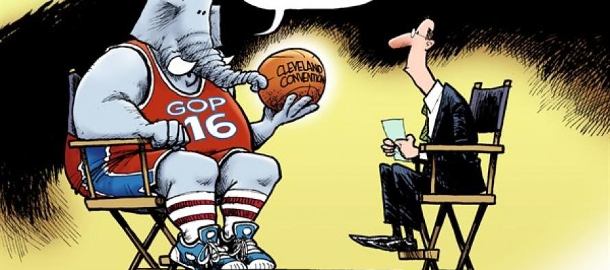 The GOP Decision (Cartoon)