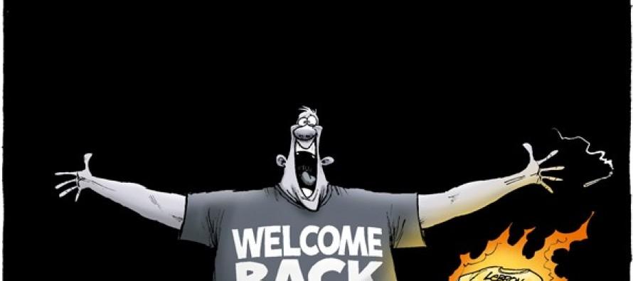 Return of the King James (Cartoon)