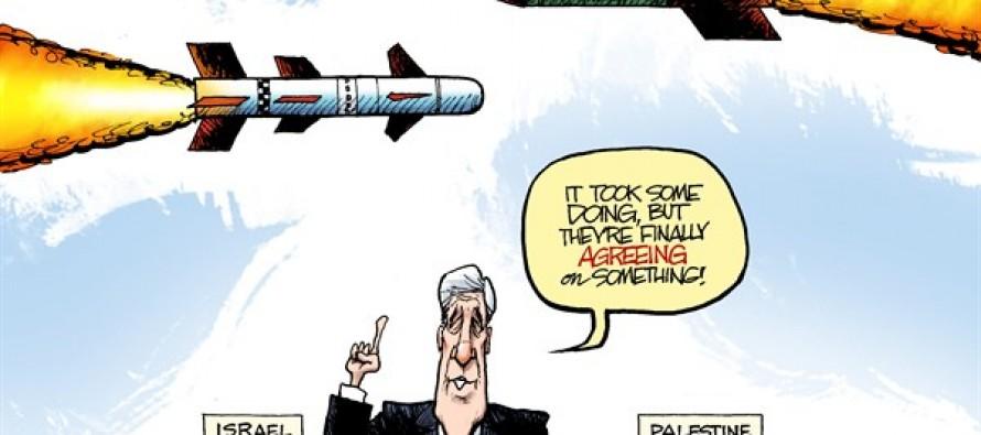 Middle East Rockets (Cartoon)
