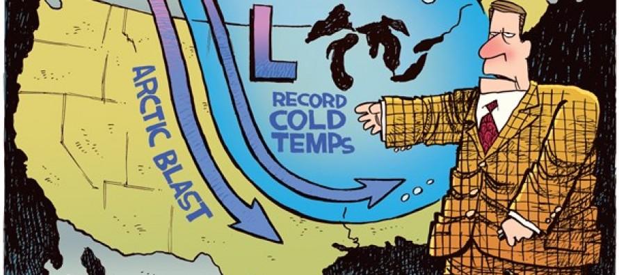 July Polar Vortex (Cartoon)