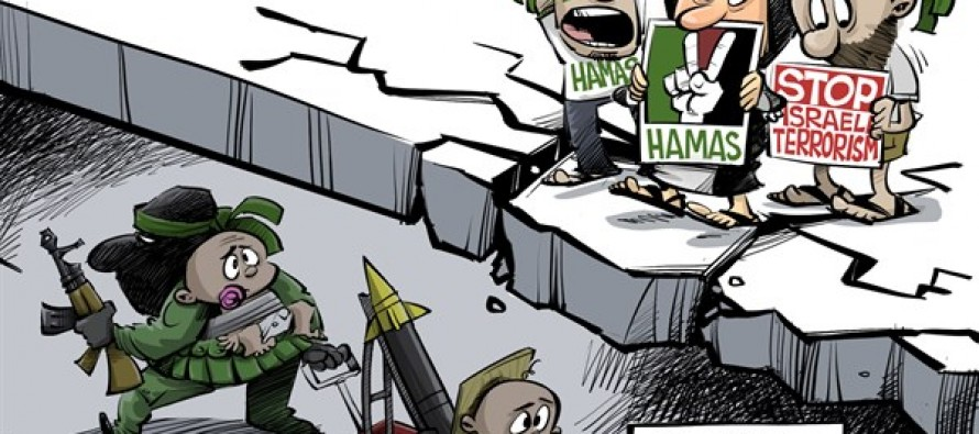 Hamas tunnels (Cartoon)