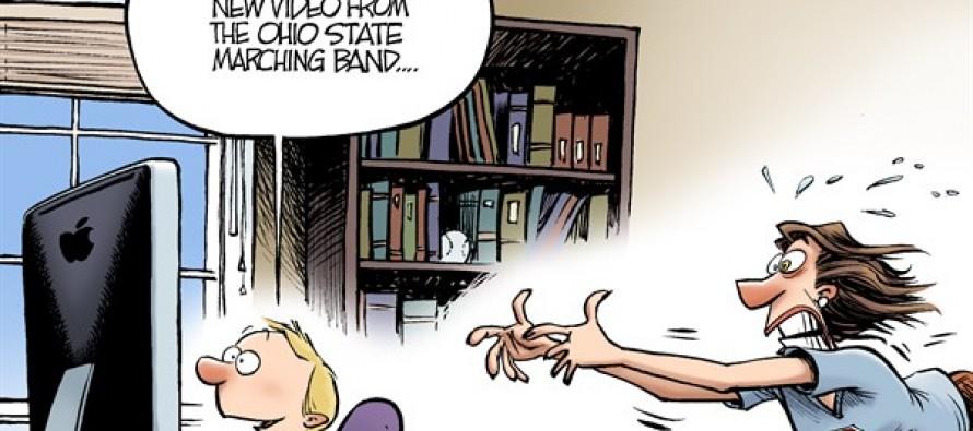 OSU Marching Band Hijinks (Cartoon)