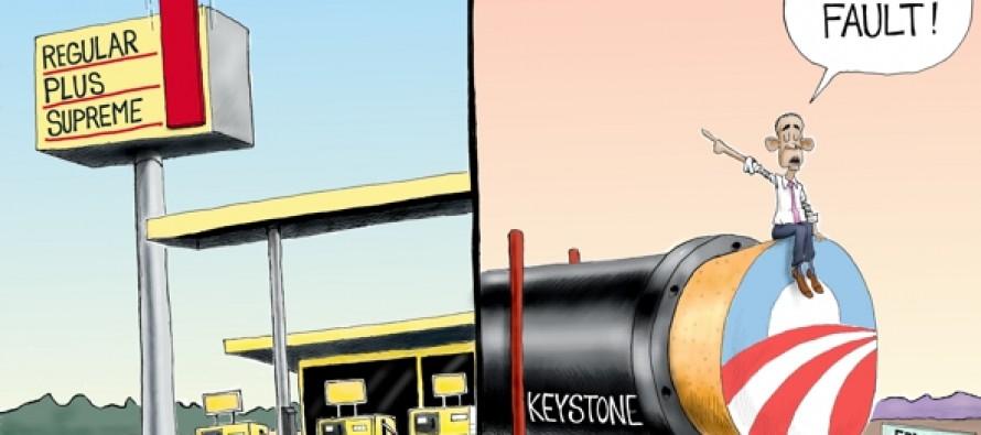 The buck stops somewhere (Cartoon)