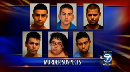 MURDER SUSPECTS