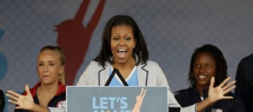 "Michelle Obama's ""Healthy"" Lunches That Kids Won't Eat Are Being Served To Pigs…"