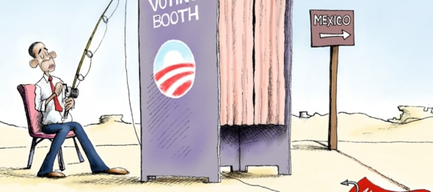 Illegal Immigrant Voters (Cartoon)