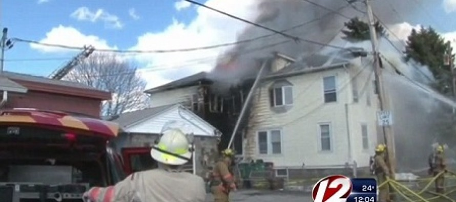 Mother of 3 Burned Down Home After She Caught Boyfriend Cheating