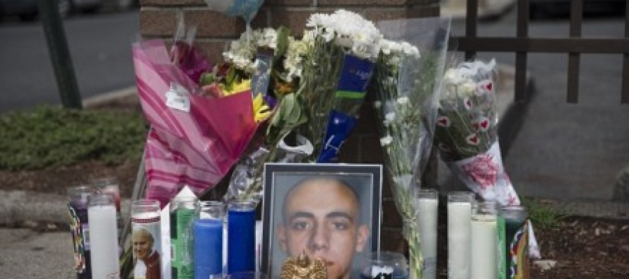 Sad:  Memorial for Cop-killer Bigger than the One for the Cop He Killed