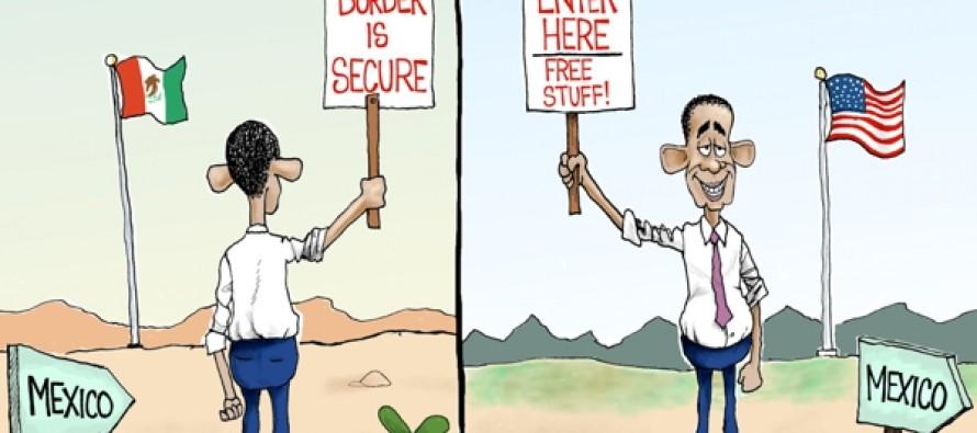 Border Crisis Views (Cartoon)
