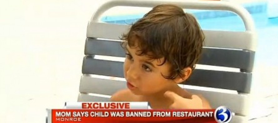 Boy, 4, banned from local doughnut shop by owner after mistakenly asking a customer if she has a baby in her belly