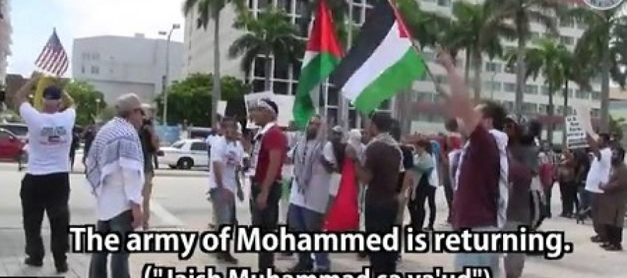 "Protestors Shouting ""We Are Hamas"" Assault and Threaten to Kill Jewish Cameraman in Miami"
