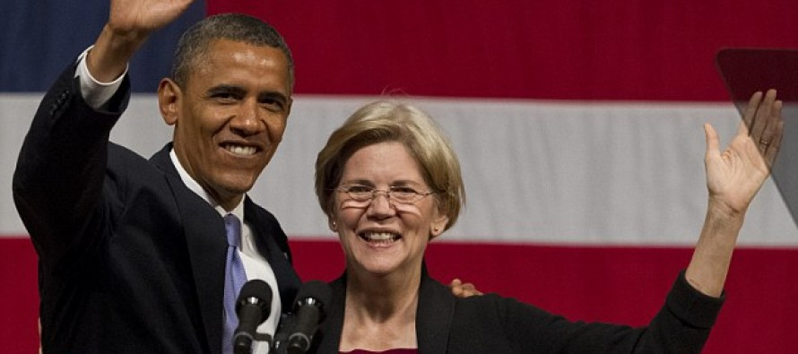 Obama may be backing Fake Native American Elizabeth Warren for president in snub to former rival Hillary Clinton