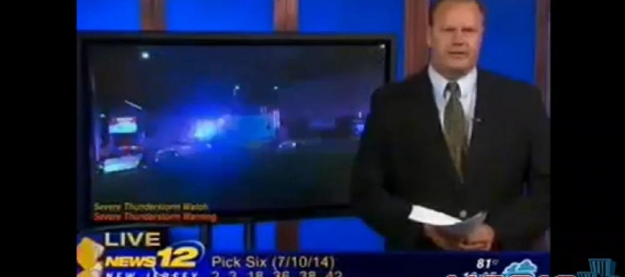 News 12 NJ reporter Sean Bergin unjustifiably suspended by station cowards for telling the truth about 'young black men' growing up without fathers