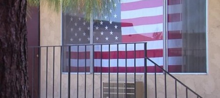 California Man Told To Take Down American Flag INSIDE Apartment In Order to Renew Lease