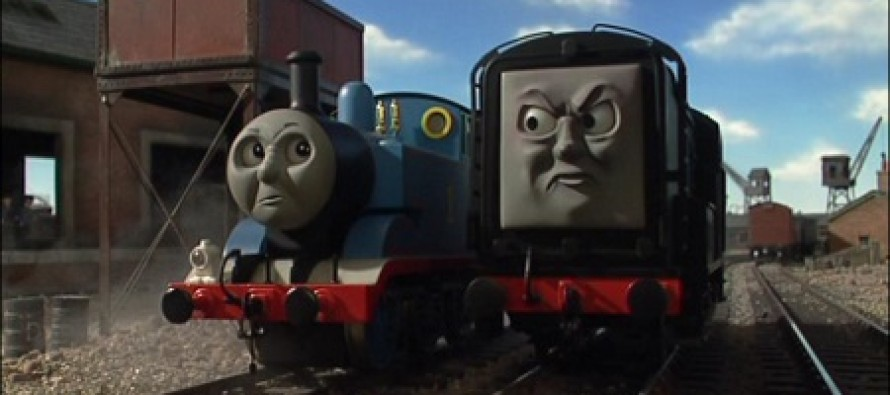 Lib Mag Guardian: Thomas the Tank Engine is Racist Because Good Engines Pump White Smoke and Evil Trains Black Smoke