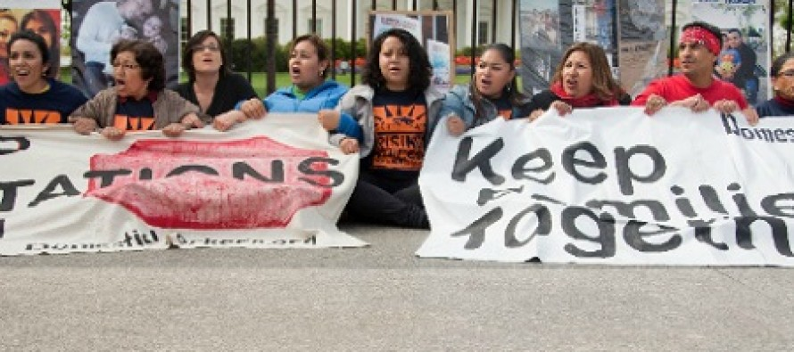 Unbelievable: Illegal Immigrants Protest Outside of the White House Without Having to Worry About ICE