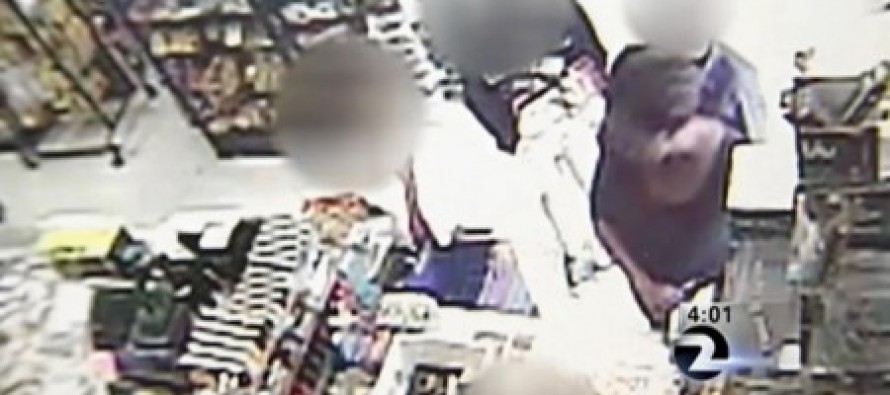 Cops hunt for a heartless woman who steals 8-year-old girl's candy money after she can't afford a $1.25 can of beer