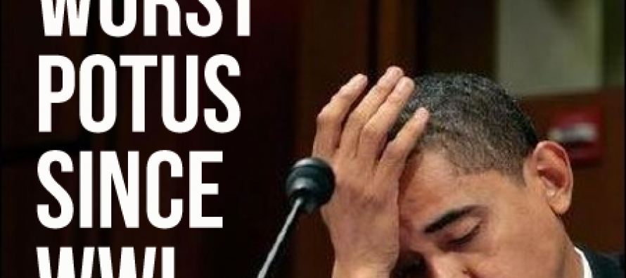 Voters Rate Obama Worst President Since WW2