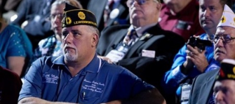 "Obama's Speech To America's Veterans Met With ""Awkward Silences"" As Most Vets ""Sat On Their Hands"""