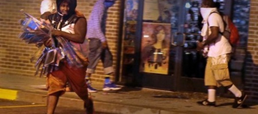 """Sad:  Ferguson Looter """"Proud of Us"""" Because """"We Deserve This"""""""