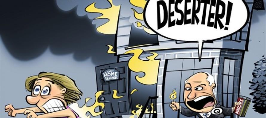 LOCAL IL Deserters (Cartoon)