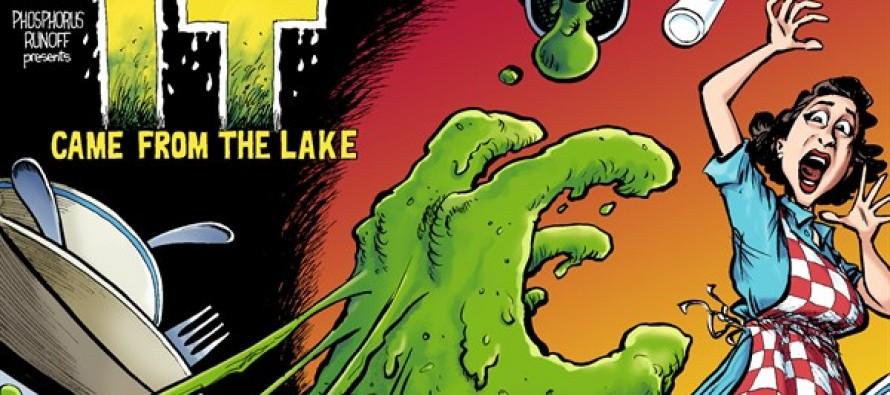 Toxic Algae Horror (Cartoon)