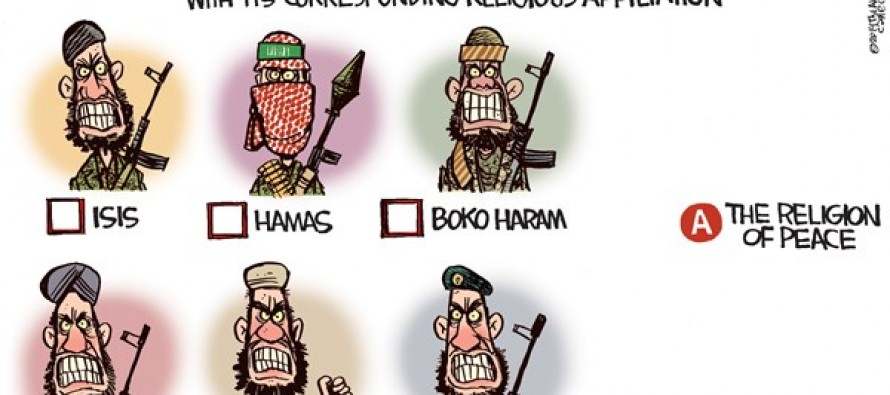 Religion of Peace (Cartoon)