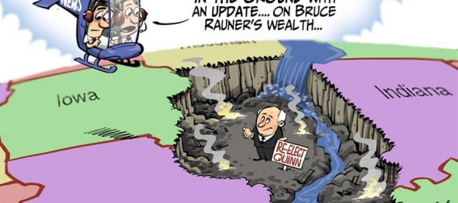LOCAL IL Gov Race (Cartoon)
