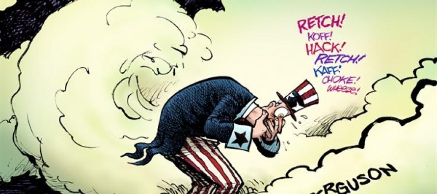 Ferguson Fracas (Cartoon)