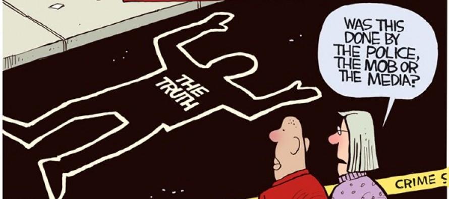 Ferguson Truth (Cartoon)