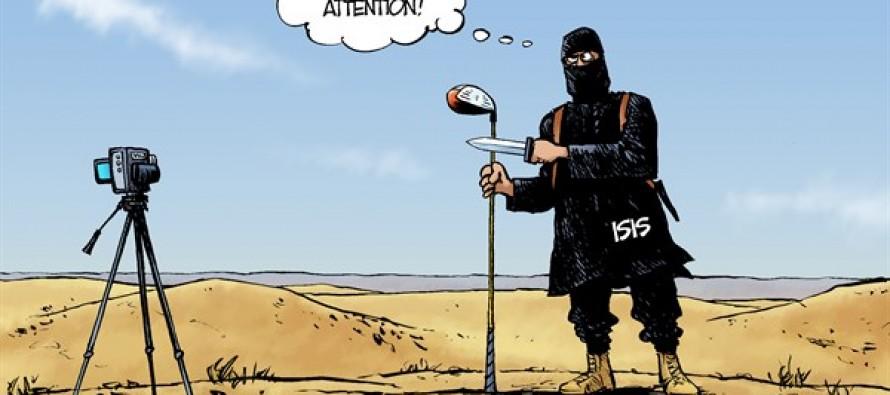 ISIS Execution (Cartoon)