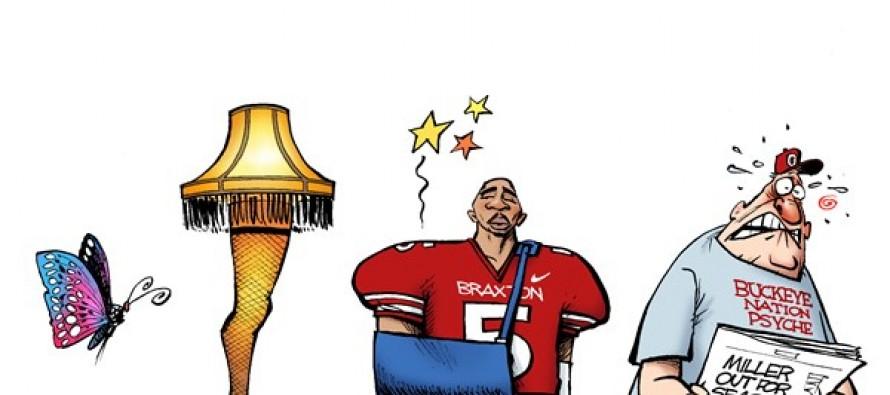 LOCAL OH – Buckeye Injury (Cartoon)
