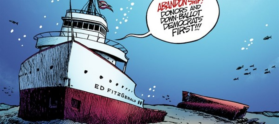 LOCAL OH – Wreck of Ed FitzGerald (Cartoon)