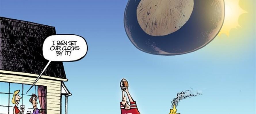 LOCAL OH – OSU Football Returns (Cartoon)