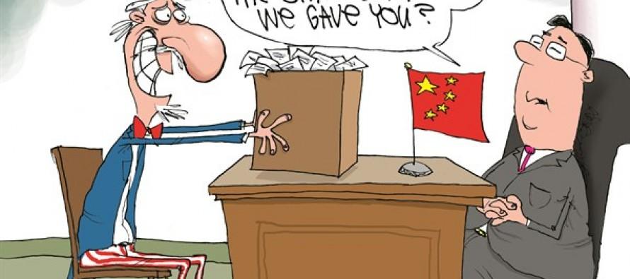 US Owes China (Cartoon)