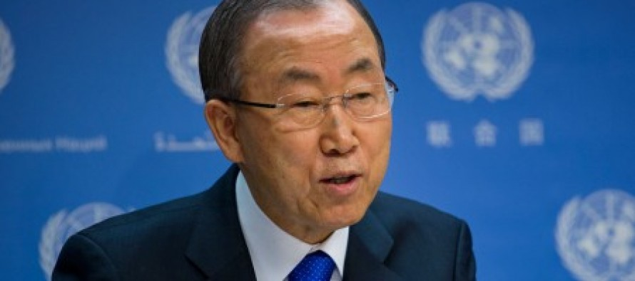 "UN Head Issues Letter, Says Police Must ""Exercise Restraint"" When Dealing With Looters in Ferguson"