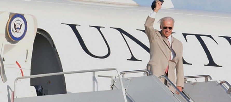 Joe Biden spent over a million dollars flying home to Wilmington and $12,406 to play golf with Obama, claims new book
